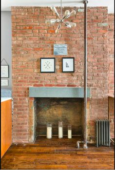 Exposed Brick Fireplaces, Family Room, New Homes, Bedroom, House, Home Decor, Decoration Home, Home, Room Decor