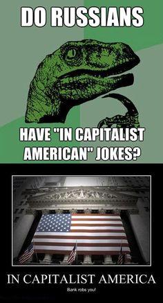 In Capitalist America…