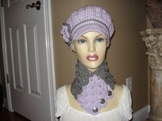 Classy Adult Orchid Newsboy Cloche Hat Free by ClassicCreations2, $25.00 Crochet Newsboy Hat, News Boy Hat, Cloche Hat, Orchids, Classy, Trending Outfits, Hats, Free, Vintage