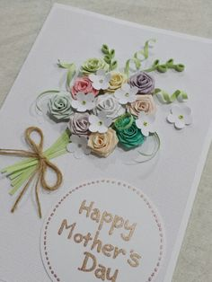 Hey, I found this really awesome Etsy listing at https://www.etsy.com/listing/185052710/handmade-pastel-flower-bunch-card