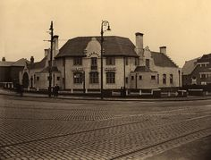 The Corner House Hotel, Heaton 1936 by Newcastle Libraries, via Flickr
