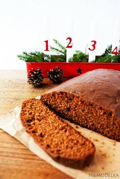 Zdrowy piernik bez cukru. Healthy clean eating gingerbread  cake