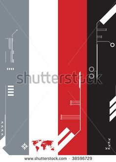 background technology template - stock vector
