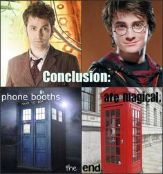 Doctor Who and Harry Potter