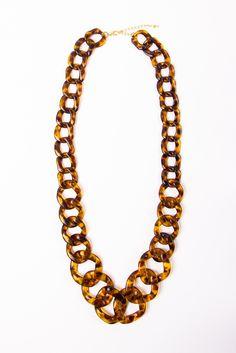 Chunky Link Necklace @a-thread . and hashtag #a-thread