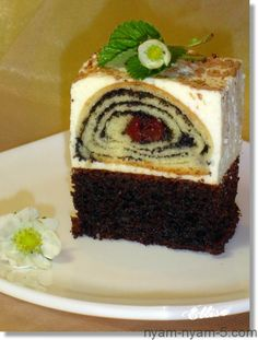 "�аг��зка... Читайте також також Пляцок ""Вишнева фантазія"" Пляцок ""Помста свекрухи"" Пляцок ""Золота Нива"" Пляцок Санта-Барбара П'яна вишня. Альтернативний рецепт Пляцок Сметанник з чотирма смаками МАКОВИЙ … Read More Sweet Recipes, Cake Recipes, Dessert Recipes, Photo Food, Crazy Cakes, Mousse Cake, Coffee Cake, Baked Goods, Good Food"