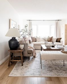Ivory Living Room, Cozy Living Rooms, Formal Living Rooms, Home Living Room, Living Spaces, Living Room Update, Affordable Home Decor, Living Room Inspiration, Interiores Design