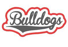 Designs :: Mascots :: Bulldogs Applique