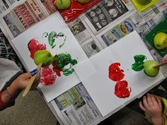 **MC Preschool** Ten Apples Up on Top - 2013---and other apple activities