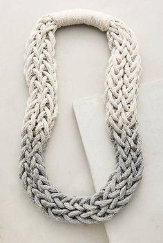Plaited Ombre Necklace