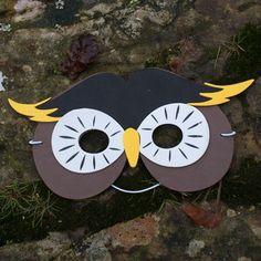 Foam Owl Mask - I like this concept