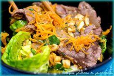 Emincé de boeuf mariné à la sauce coréenne barbecue - QUELQUES GRAMMES DE GOURMANDISE