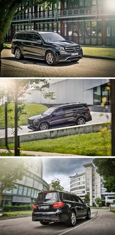 The new GLS (X is Mercedes-Benz's largest and most luxurious SUV and offers more space, more comfort, more luxury. Mercedes Benz Maybach, Mercedes Benz Gl, New Mercedes, Roadster Car, Daimler Ag, Suv Trucks, Luxury Suv, Car Photos, Dream Cars
