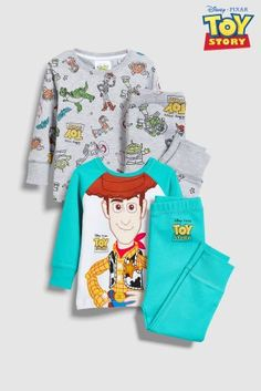 Buy Disney™ Toy Story Pyjamas Two Pack (9mths-8yrs) from the Next UK online  shop f578195294