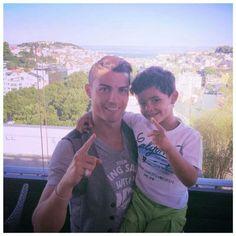 Cristiano and Cristiano Jr