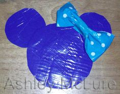 Minnie Silhouette in Duck Tape