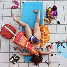 """Estas imágenes pertenecen al proyecto """"bodies with no regret"""" del fotógrafo Sandro Giordano - remmidemmi, lo cual nos hace ver que no todo es glamour..."""