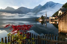 Autumn is coming - Autumn on Hallstatter sea is coming. I was there yesterday morning, for the second time. During the preparation I browse images of this beautiful spot here on 500px. What I saw is the fact that biggest amount of images is taken from the same spot - from the street under the lake an only difference is weather conditions and way of post processing. Buut, I was so lucky to get to the hidden spot and see the scenery from the totally different perspective and I feel so happy…
