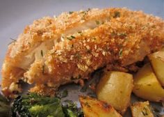Little Mommy, Big Appetite: Breaded Honey Dijon Baked Tilapia
