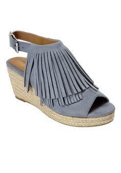 Diane Espadrille Sandals by Comfortview - Wide Width Women's