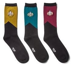 """These """"Star Trek: TNG"""" Socks Will Make Your Feet Look Like One Of The Crew"""