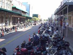 Galveston Strand ~ Fun tourist shopping and the famous anual Bike Rally! Galveston Strand, Halloween Havoc, Bike Rally, City Limits, Places Of Interest, Island Life, Historical Sites, Texas, Street View