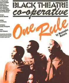 One Rule 1981   Nitro Black Music Theatre (Black Theatre Co-operative)  www.nitro.co.uk