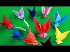 Простая оригами бабочка – Origami simple butterfly origami tutorial, origami butterfly instructions