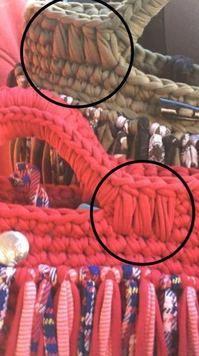 添付画像 Crochet Clutch, Crochet Purses, Crochet Stitches, Knit Crochet, Crochet Handles, Diy Bags Purses, Yarn Bag, Finger Knitting, Knitted Bags