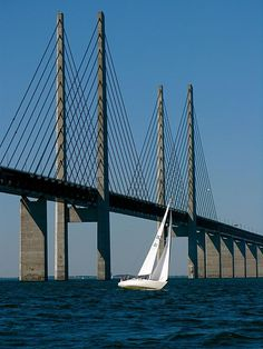 THE ÖRESUND BRIDGE, SWEDEN