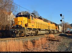 RailPictures.Net Photo: NECR 2764 New England Central EMD SD40-2 at White River Junction, Vermont by Kevin Burkholder