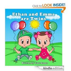 Amazon.com: Children book: Ethan and Emma are Twins (Twins Stories) eBook: Yael Manor: Kindle Store : http://www.amazon.com/dp/B00EZN25VA