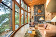 The award-winning Wickaninnish Inn on the west coast of Vancouver Island, BC, Canada. #luxurytravel