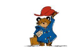paddington bear art print - Google Search