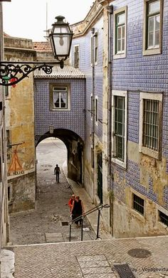 Alfama a typical quarter in Lisbon - Portugal Sintra Portugal, Braga Portugal, Visit Portugal, Spain And Portugal, Portugal Travel, Places To See, Places To Travel, Great Places, Portuguese Culture