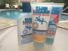 Fun in the Sunshine State Blue Lizard Sunscreen, Turn Blue, Running Shoe Reviews, Sunshine State, Take Care Of Yourself, No Equipment Workout, Sensitive Skin, Vodka Bottle, Cover
