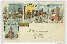 Gruss aus Stargard Szczecinski. Pommern 1901.