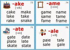 phonics flashcards long a vowel words Phonics Flashcards, Abc Phonics, Phonics Rules, Phonics Lessons, Phonics Words, Phonics Reading, Jolly Phonics, Teaching Phonics, Phonics Worksheets