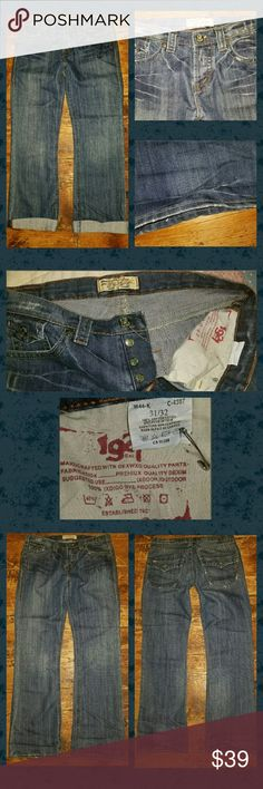 1064aecd711 1921 slouchy relaxes boyfriend jeans 1921 western glovrworks is brand size  is 31 and inseam 32 lightly worn. factory distressing and worn in vtg wash  more ...