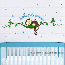 Cheeky Monkey árbol Vid Dormir pegatinas de pared calcomanía vivero bebé niños…