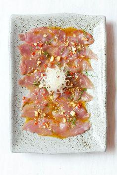 """""""Nikkei Style"""" tuna tiradito at La Pescaderia in Lima"""