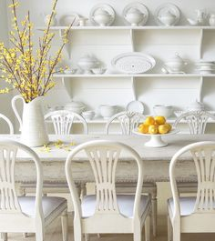Dining Room Decoration That Will Make Your Dining Room Party T/Best Interior Garden, Interior And Exterior, Interior Design, Dining Area, Dining Table, Dining Rooms, Fine Dining, Swedish Interiors, White Interiors