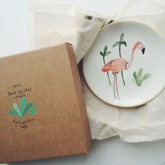 Ceramic plate / Bodil Jane