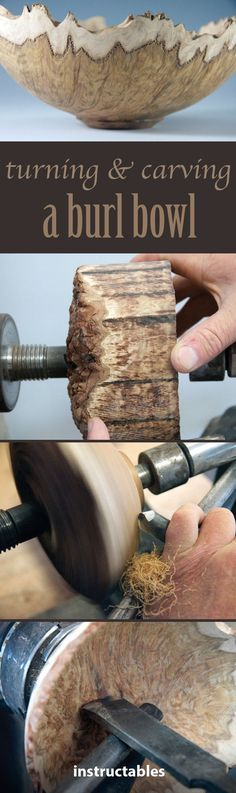 Learn tips and tricks for turning a beautiful wooden bowl.