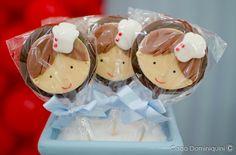 Biscoito de chocolate para o tema Chef