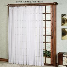 single panel curtain sliding glass door glass doors pinterest