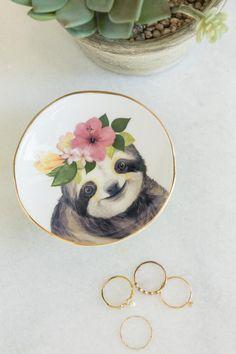 Sloth Footed Trinket Dish