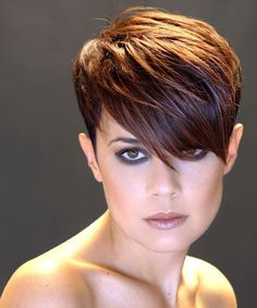 Pixie Haircut With Long Layered Top
