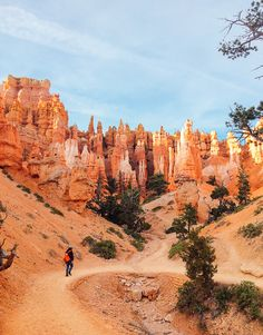 Our experience of traveling to Bryce Canyon and the surrounding area, including the hikes we did, and some awesome photos! Bryce Canyon, Canyon Utah, Oh The Places You'll Go, Places To Travel, Travel Destinations, Places To Visit, Travel Diys, Zion National Park, National Parks