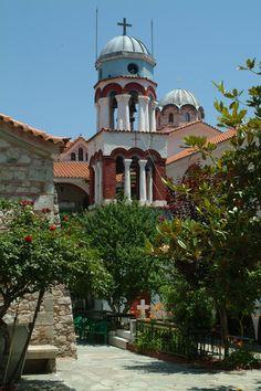 Monastery Osios David, Evia island